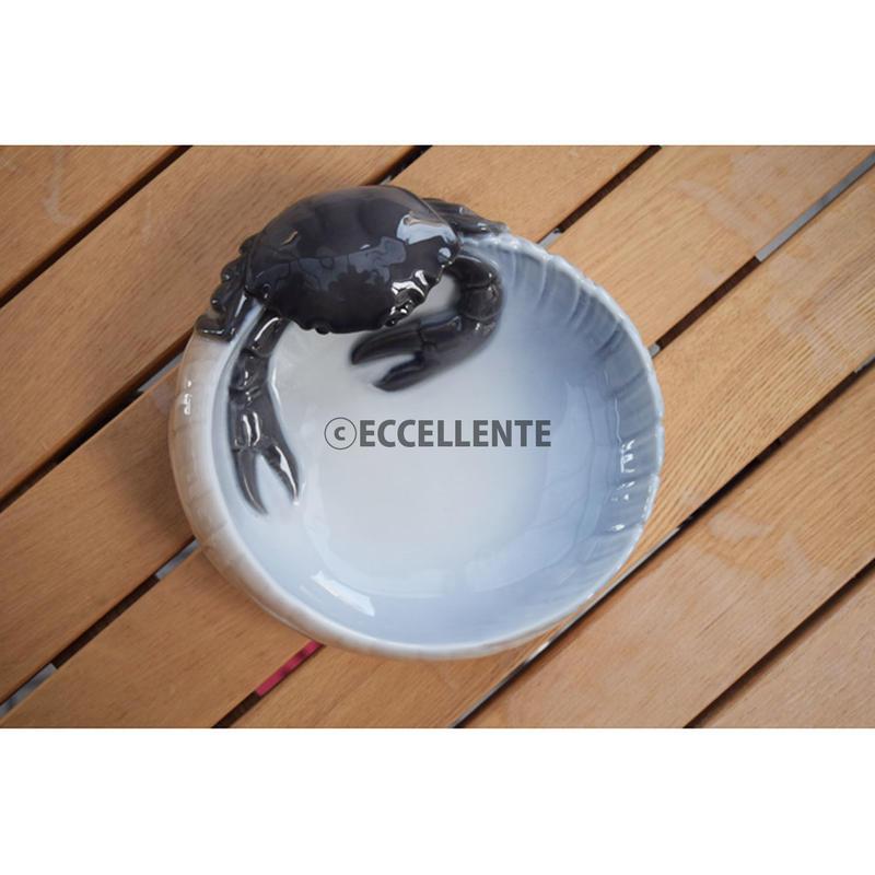 【北欧ヴィンテージ】【ロイヤルコペンハーゲン】アールヌーボーの飾り皿 カニ