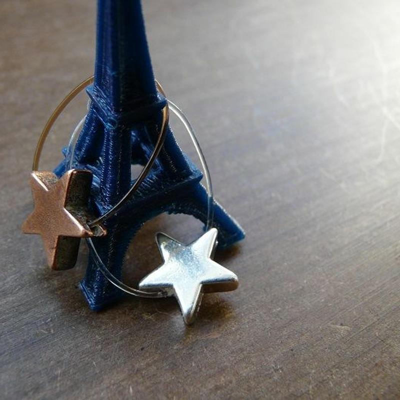DANILA PARIS  étoile リング  星のチャーム・スターチャーム・指輪
