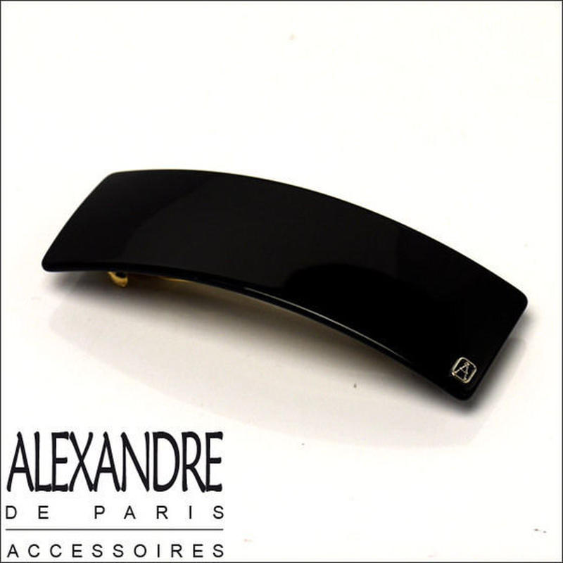 Alexandre de Paris アレクサンドル・ドゥ・パリ クラシック バレッタ9㎝ ブラック