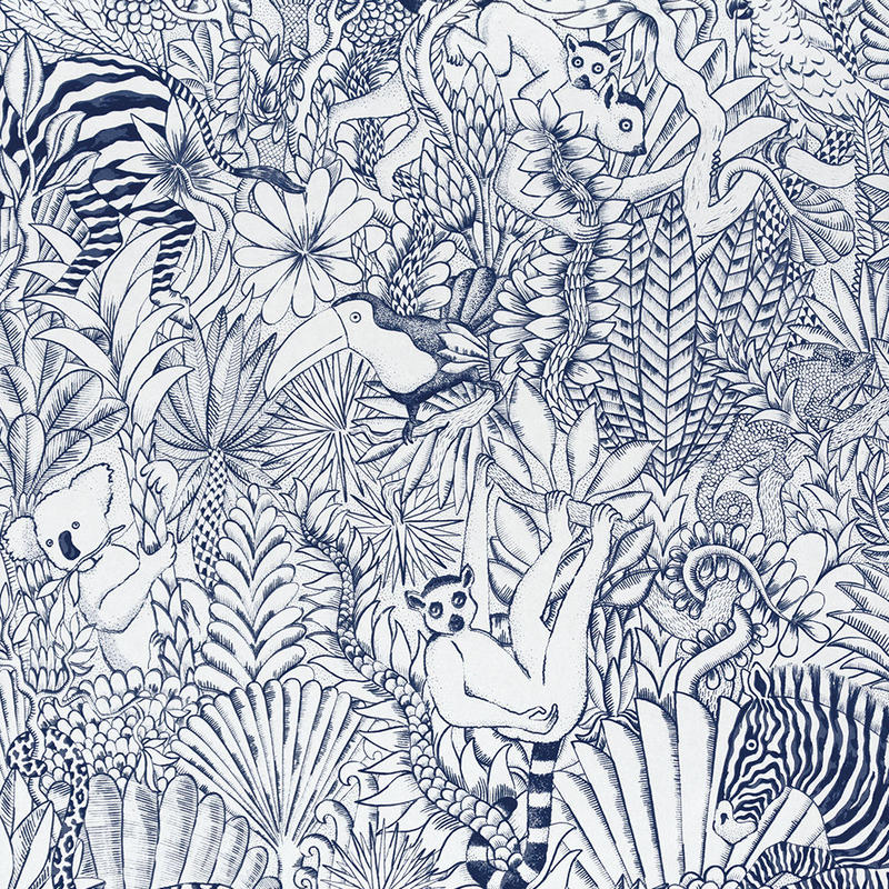 HERMES 壁紙 エルメス ANIMAUX CAMOUFLES FINESSE★新作