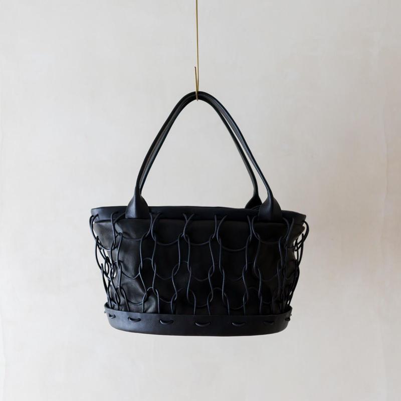 "Eatable【CHARCUTERIE HAND BAG】""Black"""