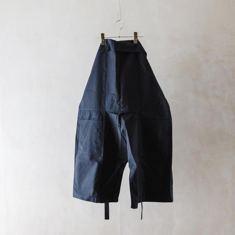 TUKI #0114【 fisherman's shorts】steel blue