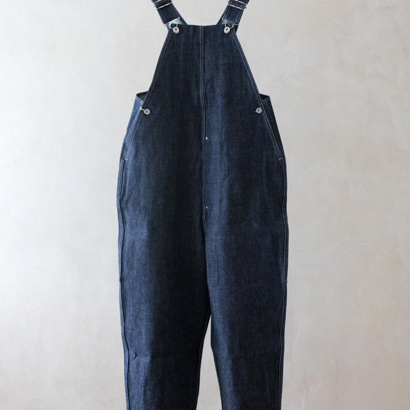 TUKI #0054 【TYPE2 SALOPETTE】INDIGO DENIM
