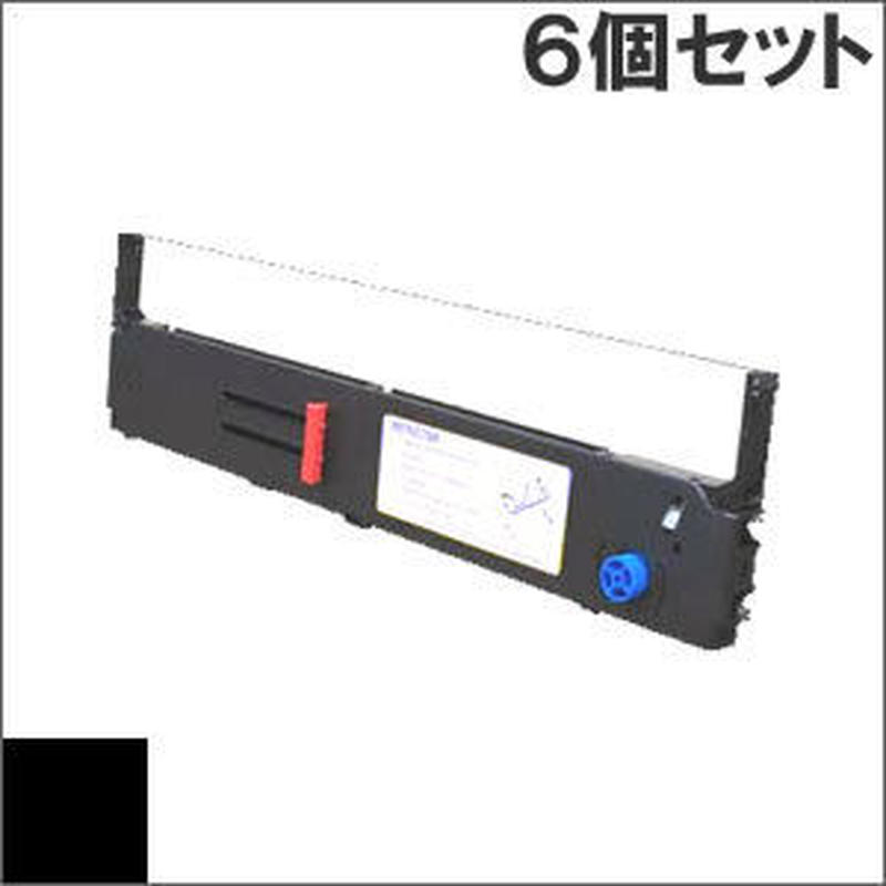 ML8570 / SZ-11710 ( B ) ブラック インクリボン カセット OKI(沖データ) 汎用新品 (6個セットで、1個あたり4650円です。)