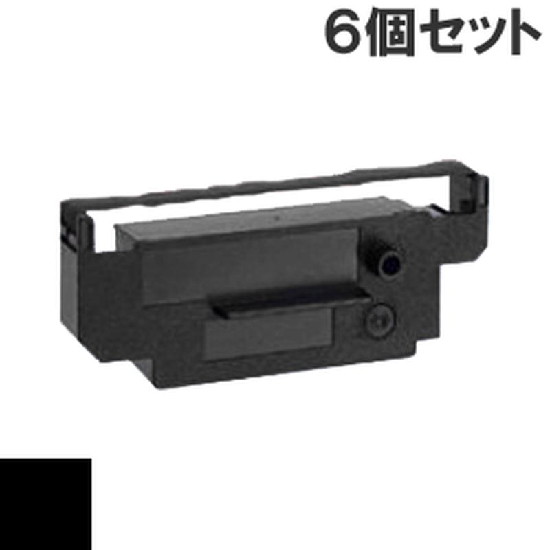 IR-51  ( B ) ブラック インクリボン カセット CITIZEN (シチズン) 汎用新品 (6個セットで、1個あたり1000円です。)