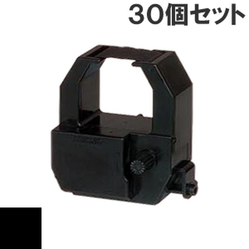 CE319550  ( B ) ブラック インクリボン カセット AMANO (アマノ) 汎用新品 (30個セットで、1個あたり2300円です。)