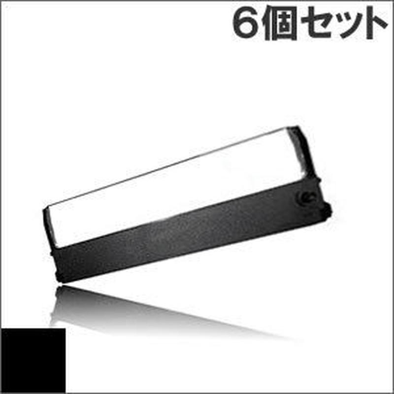 PC-PR101-01 / EF-1240B (B) ブラック インクリボン カセット NEC(日本電気) 汎用新品 (6個セットで、1個あたり1500円です。)
