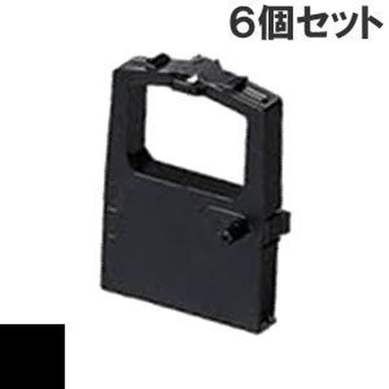 R-51 ( B ) ブラック インクリボン カセット TOSHIBA(東芝) 汎用新品 (6個セットで、1個あたり1350円です。)