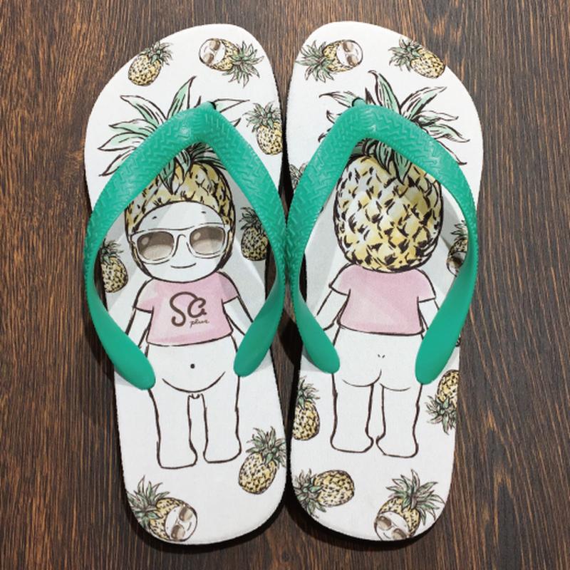 ビーチサンダル ホワイト / Beach Sandals White