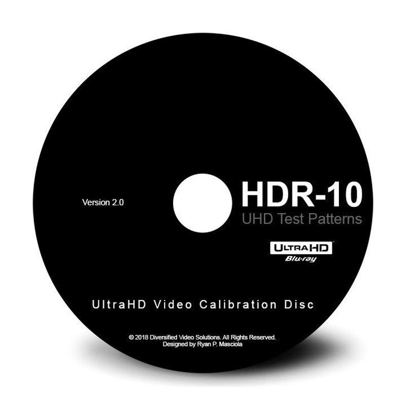 DVS UHD|HDR-10 Video Calibration Disc 2.0「UltraHD Blu-ray Disc版」