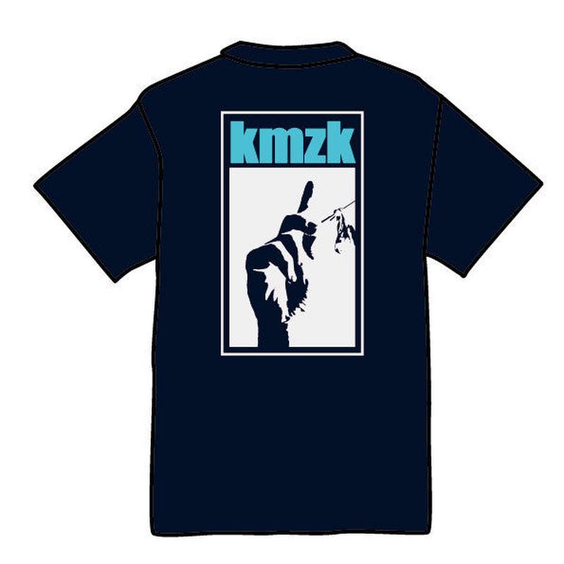kmzk Funky Soul Food Tshirts(ネイビー)