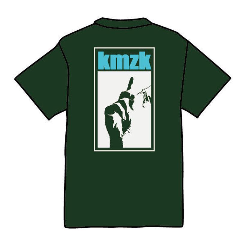 kmzk Funky Soul Food Tshirts(グリーン)
