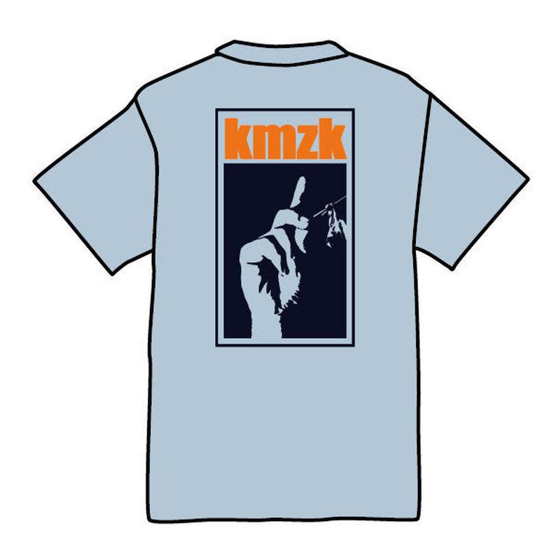 kmzk Funky Soul Food Tshirts(ライトブルー)