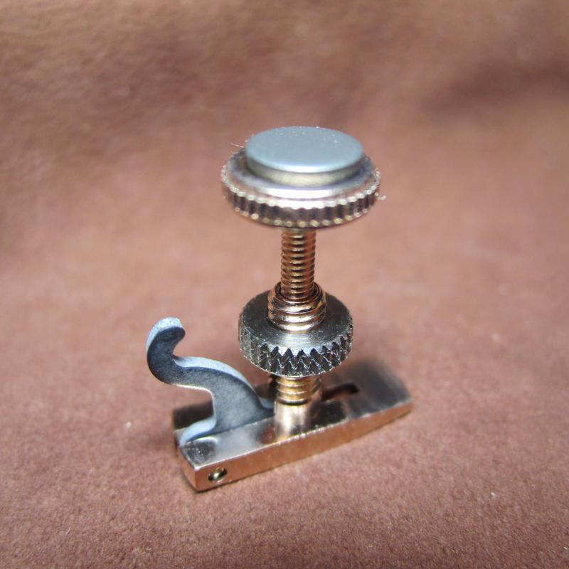 江川工房特製ヴァイオリン・アジャスター「サラベル」 ピンクゴールド Violin Adjuster Hill Type