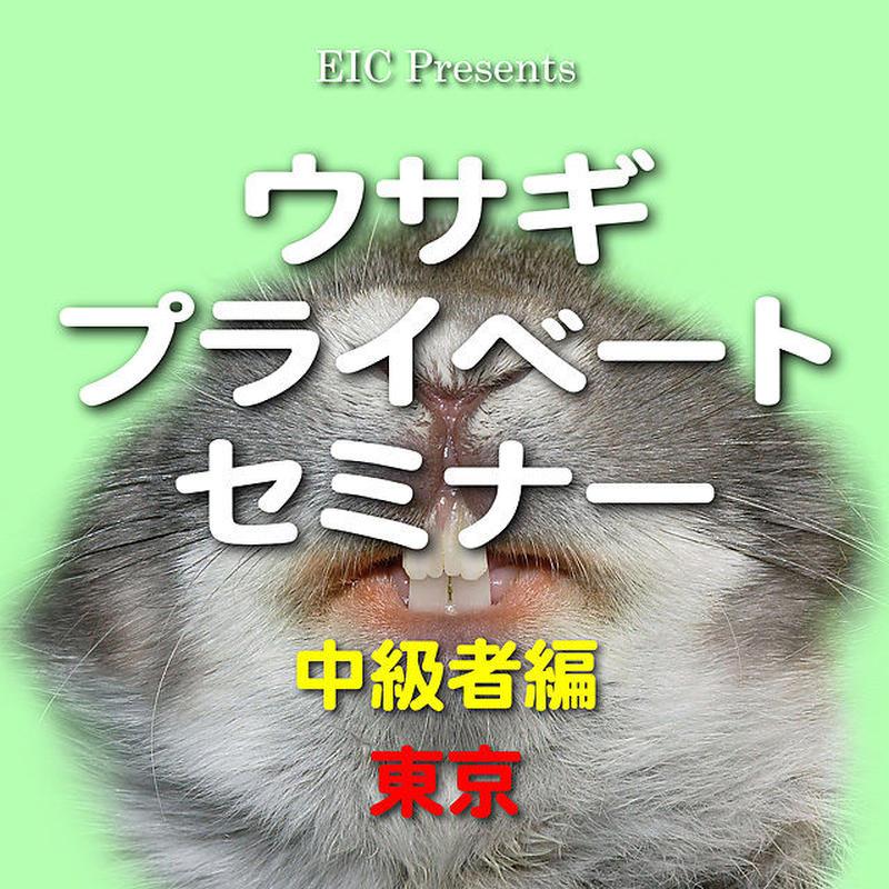ウサギ プライベートセミナー:中級者編:東京