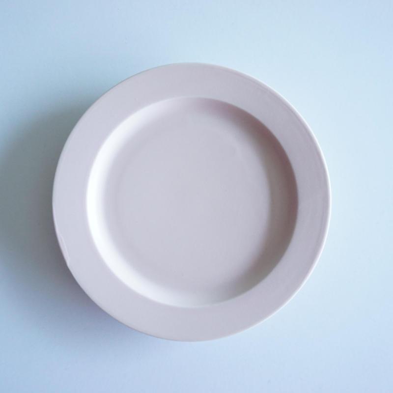 15㎝リム皿    ピンク