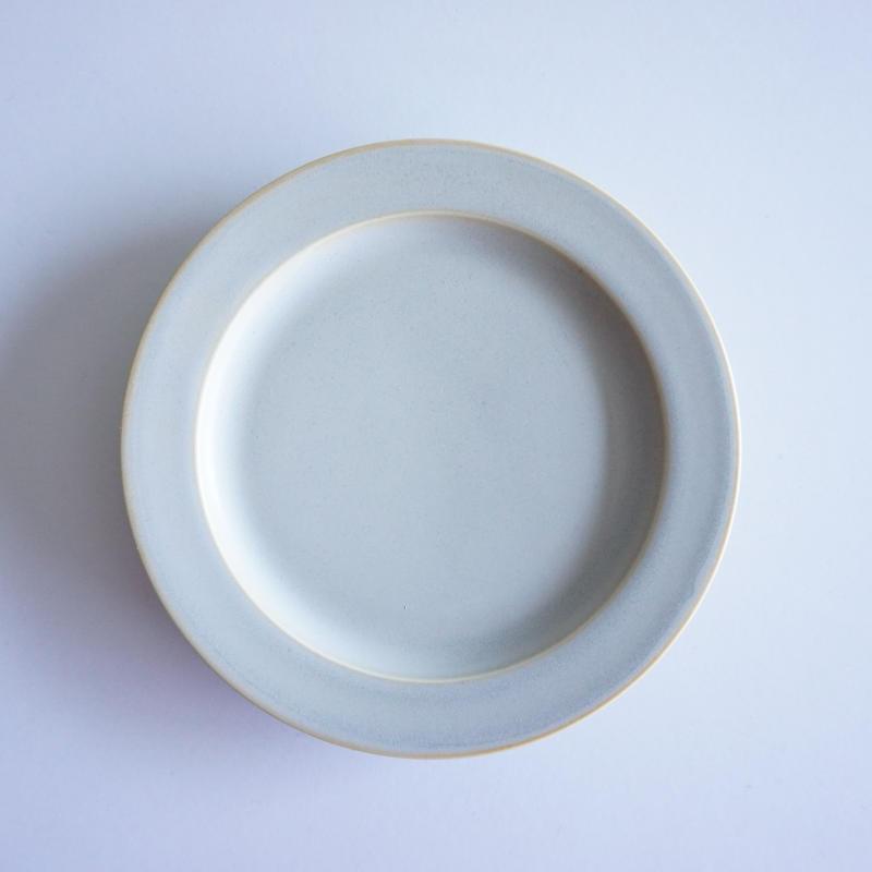 15㎝リム皿     グレージュ