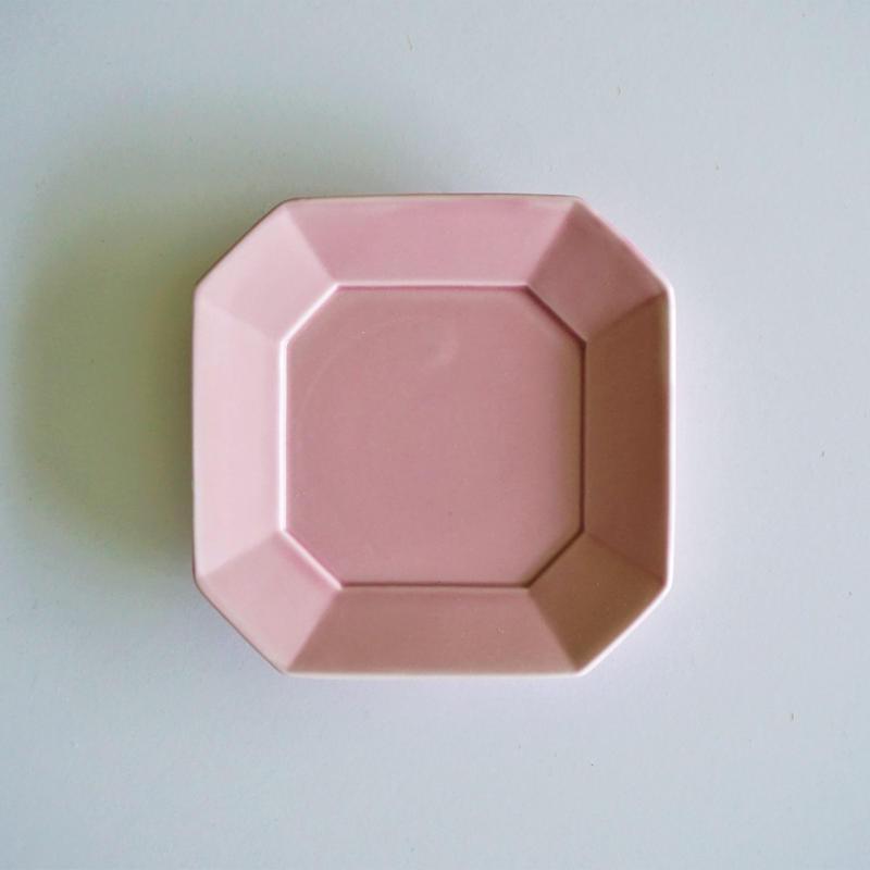 角小皿  パープルピンク