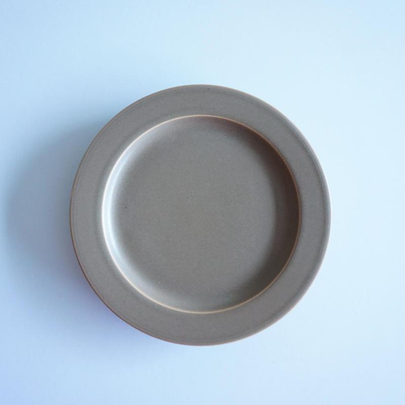 15㎝リム皿 モカブラウン