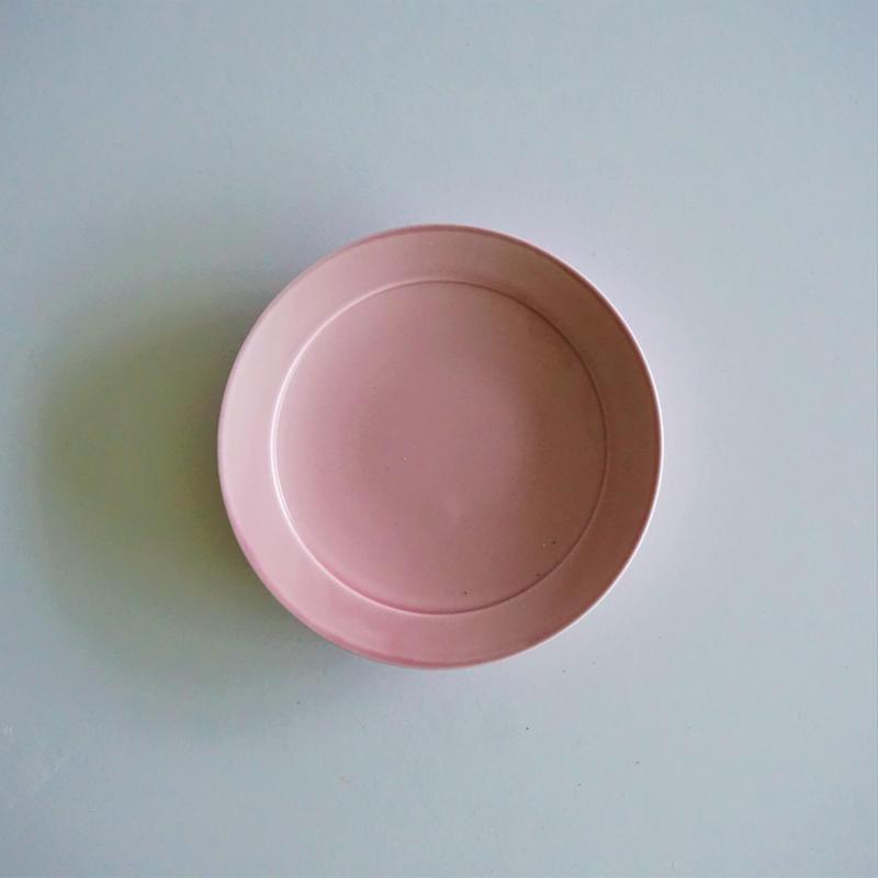 リム小皿  パープルピンク
