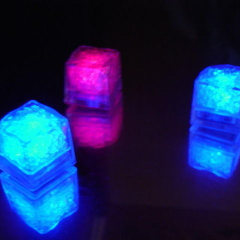 LED 通電式アイスキューブRAINBOW 業務用24個