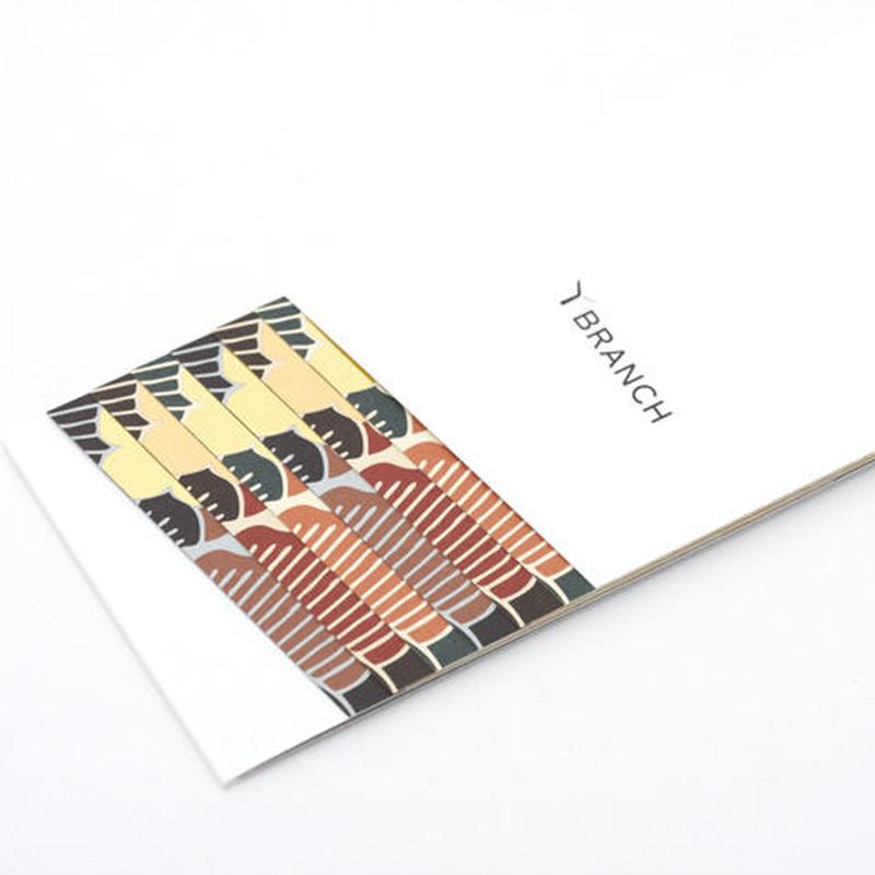 紙の箸置き(Sho-Chiku-Bai)
