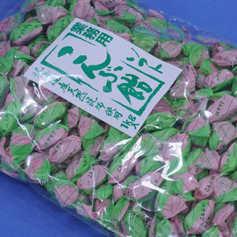 ソフト昆布飴(業務用パック1kg)ひねり包装の柔らかな昆布飴♪