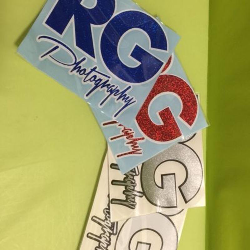 入荷済み!!! RG Photography オリジナルステッカー