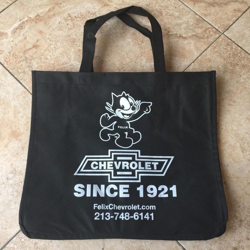 【再入荷!!】Felix Chevrolet エコショッピングトートバッグ