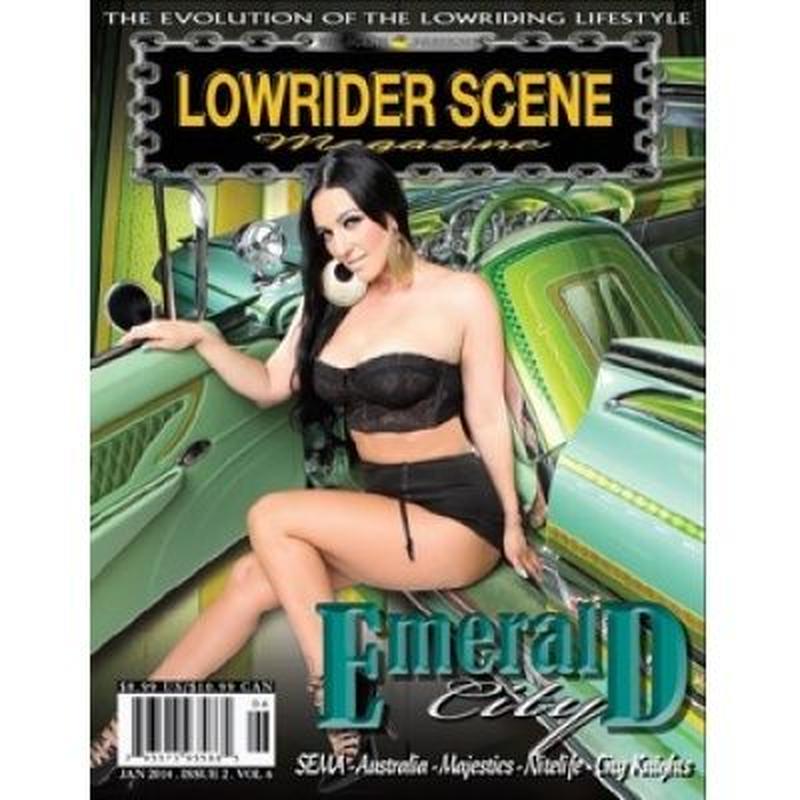 LOWRIDER SCENE Magazine VOL.006