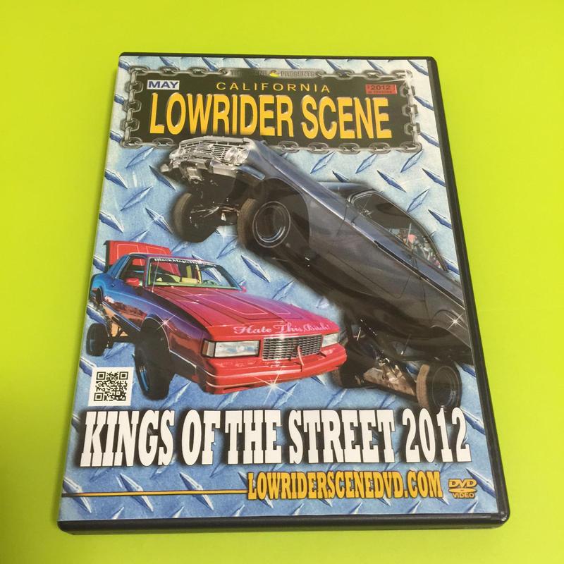 LOWRIDERSCENE DVD - KINGS OF THE STREET 2012