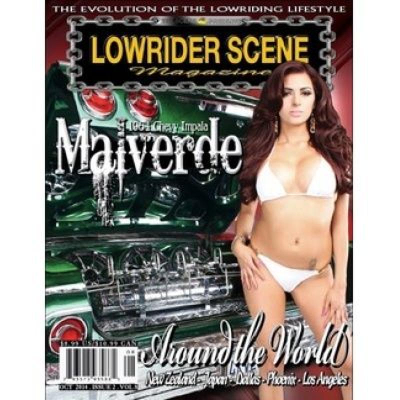 LOWRIDER SCENE Magazine VOL.008