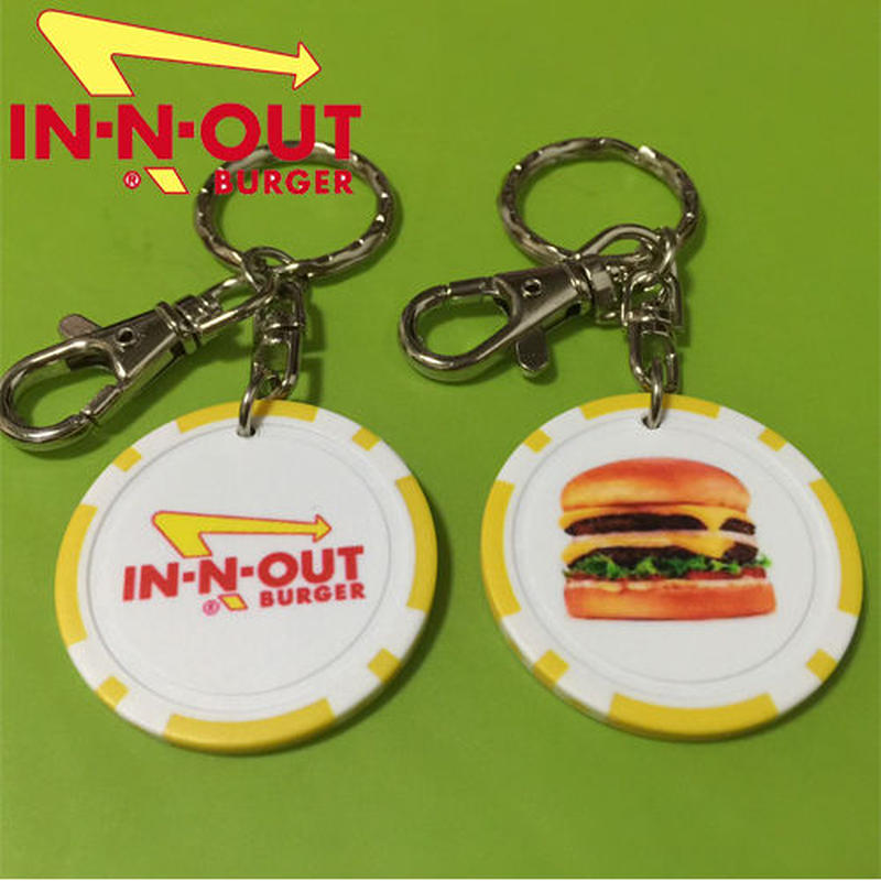 【IN-N-OUT】 キーホルダー 限定入荷!!