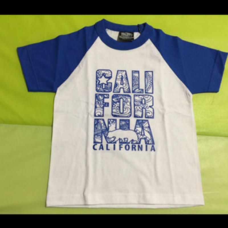 【NEW!!】【KIDS】 CALIFORNIAロゴ TEEシャツ