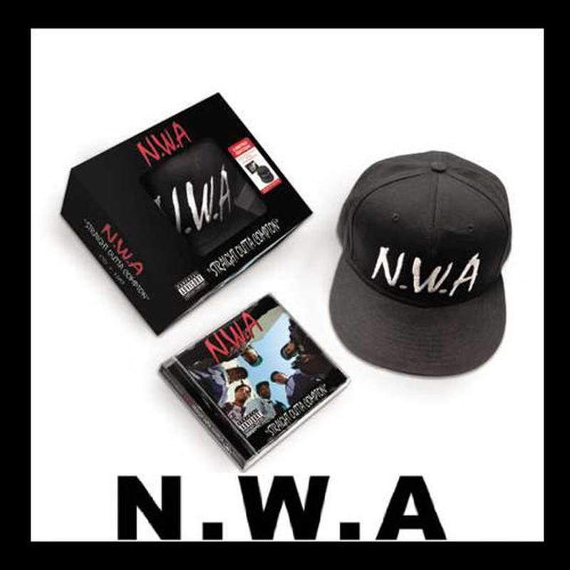 予約受付開始!【N.W.A】Straight Outta Compton CD+CAP Set!!