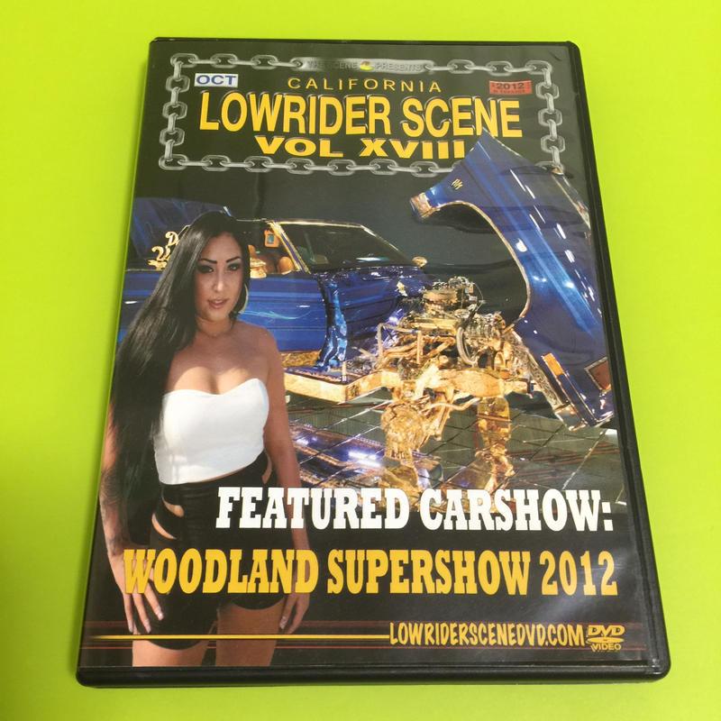 LOWRIDERSCENE DVD   Vol,XVIII