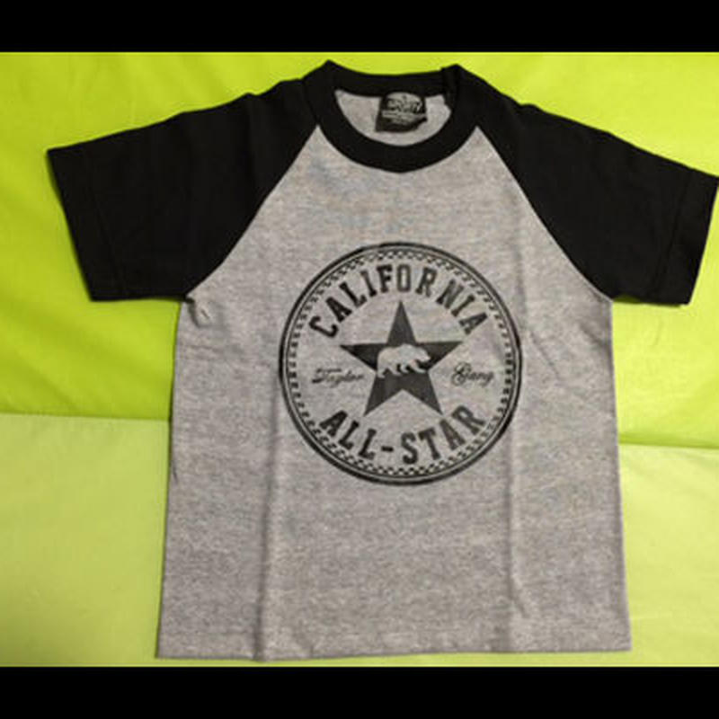 【NEW!!】【KIDS】 CALIFORNIA ALL-STARロゴ TEE