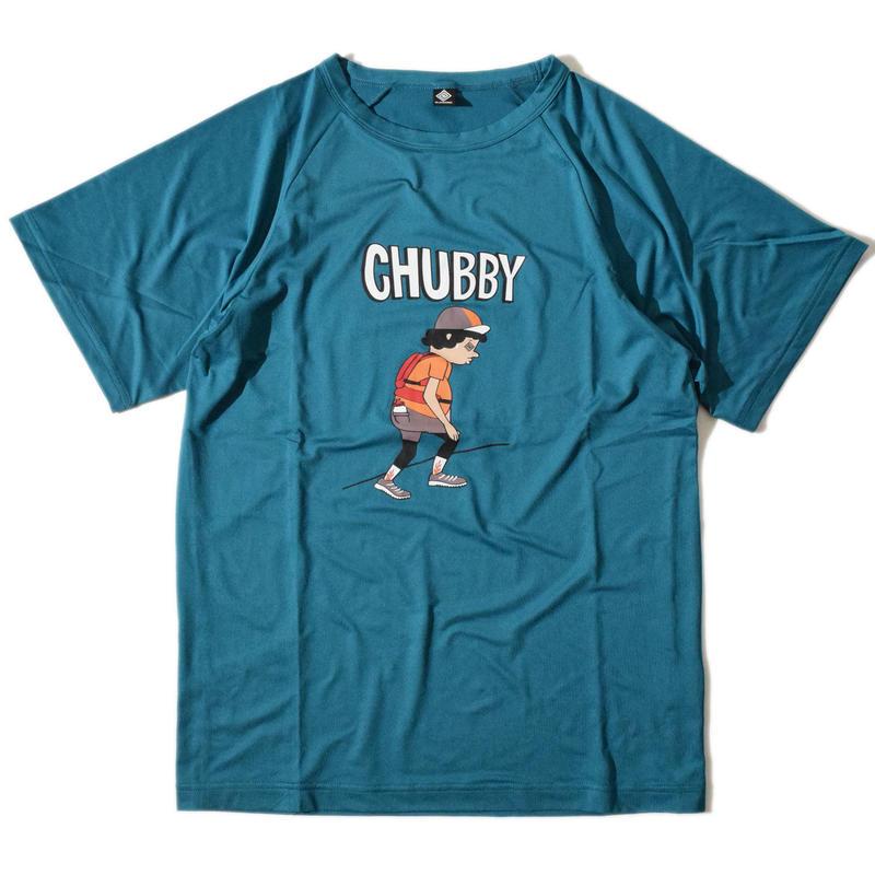 Chubby Raglan T(BlueGreen)