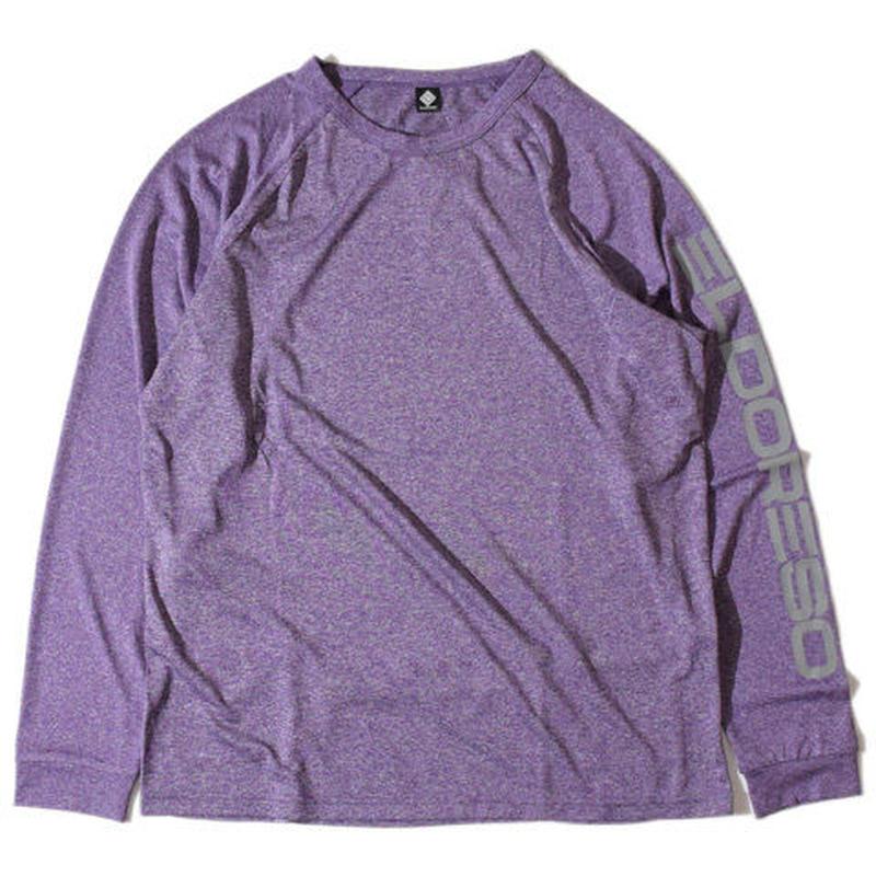 Raglan PK Long T(Purple)