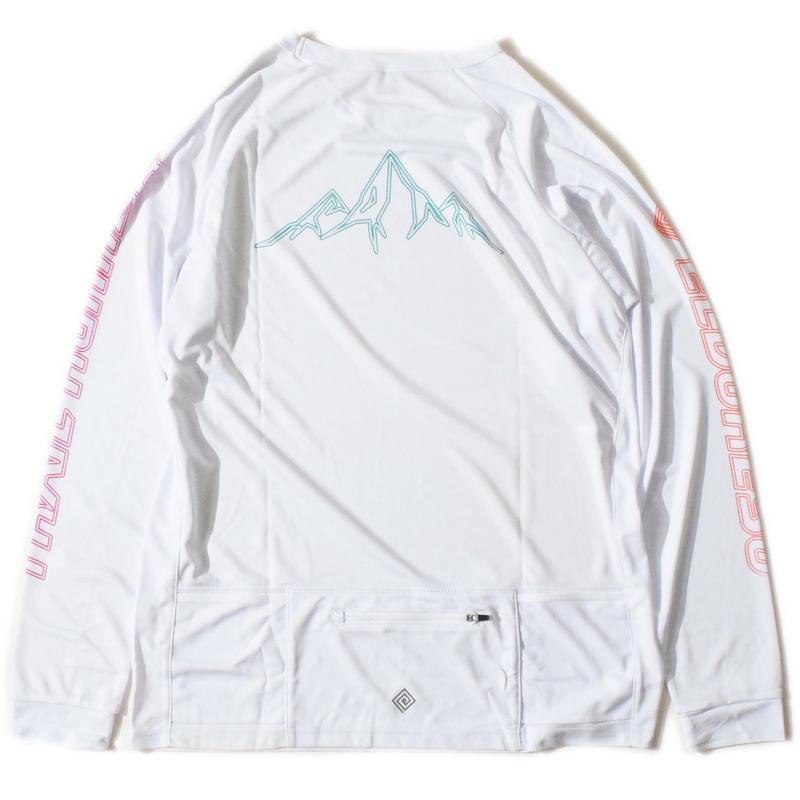 Trail Runner Long T(White)