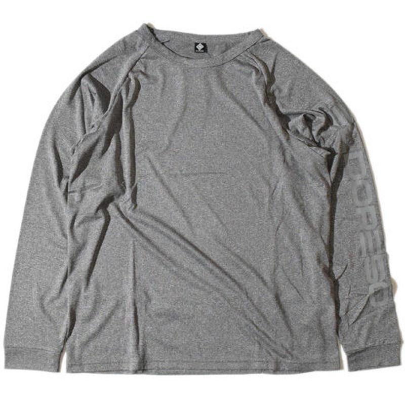 Raglan PK Long T(Gray)