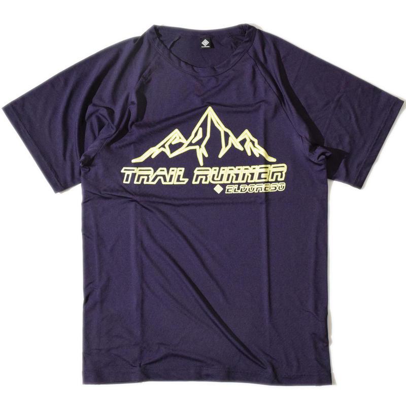 Trail Runner Raglan T(Purple)