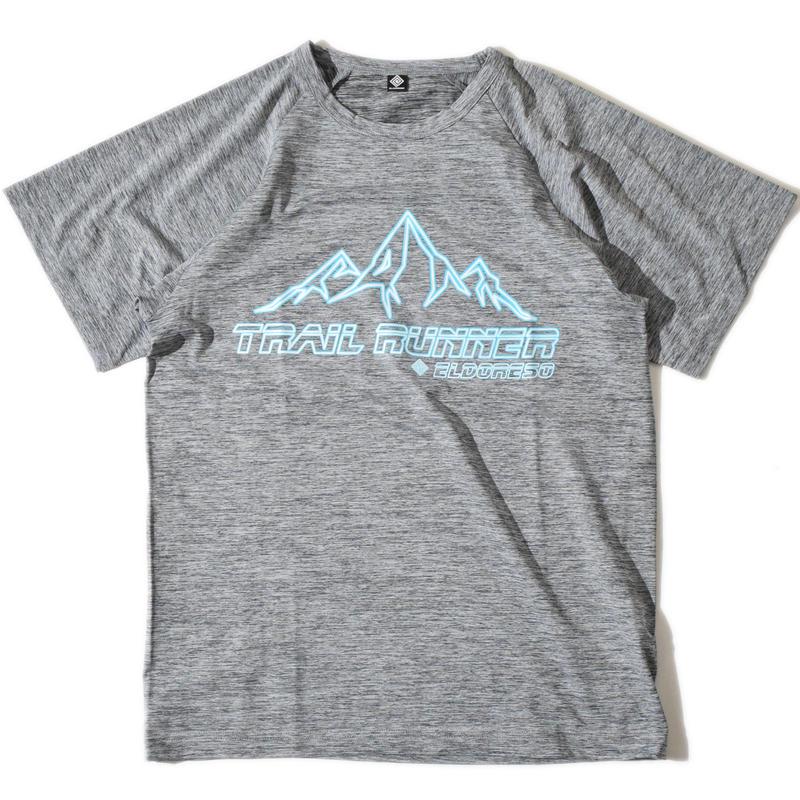 Trail Runner Raglan T(Gray)