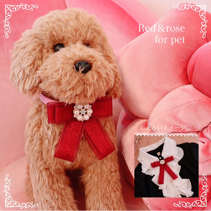 Red&rose for pet
