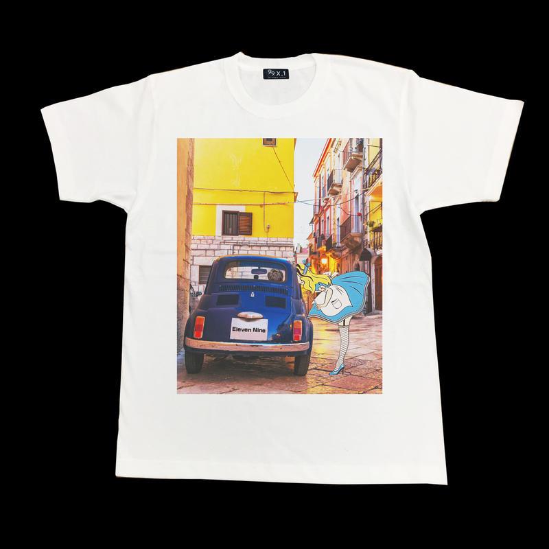 Eleven Nine / Tシャツ / Alice  car   / ホワイト