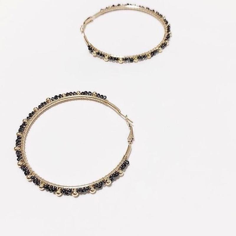 Vintage circle pierce