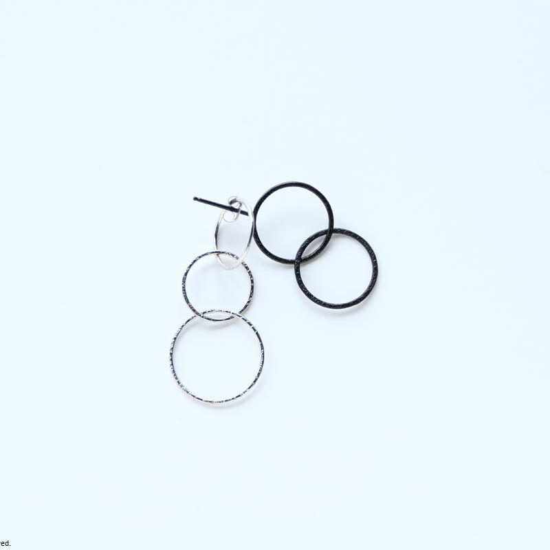 Rippless earring / BK-SV