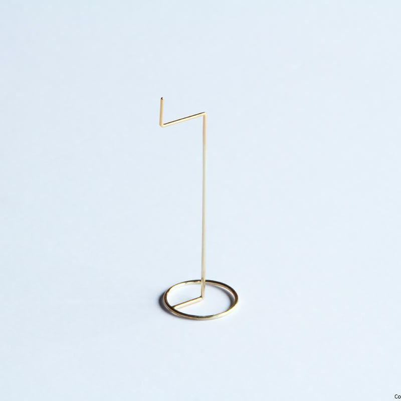 Pendulum earring / 10K GOLD