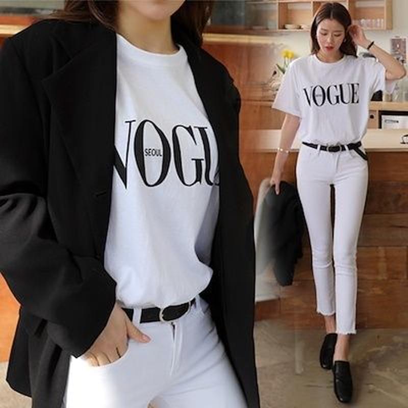 VOGUE カラーTシャツ
