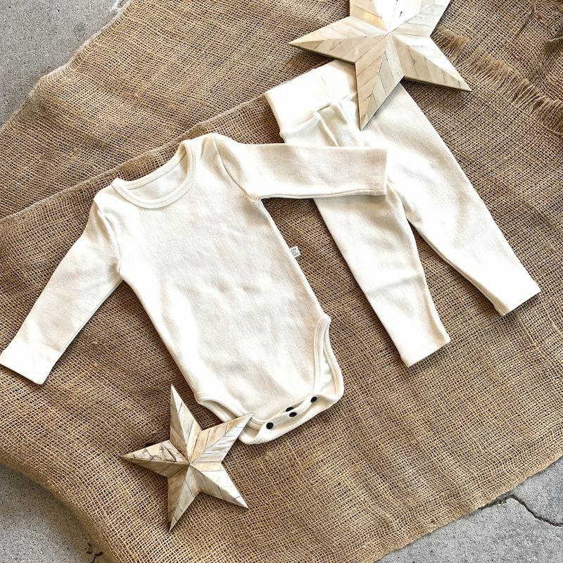ivory -standard - rompers&leggings set-